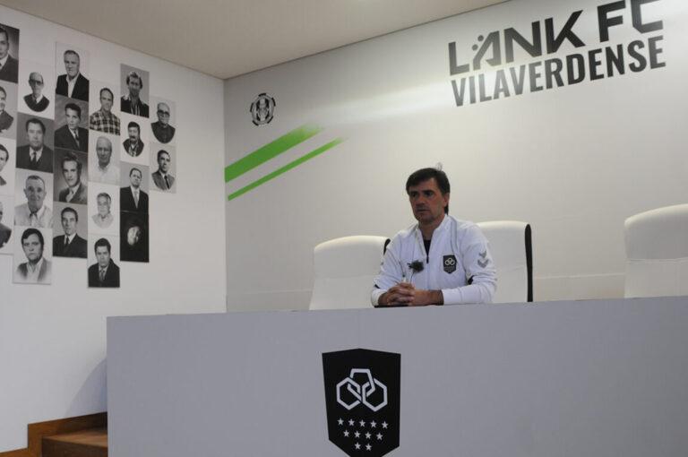 Hélder Baptista, treinador do Vilaverdense
